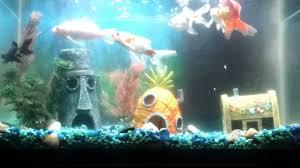 Spongebob Fish Tank Decor Set by Bottom Fish Tank Youtube