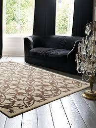 benuta teppiche teppich kaleido taupe 300x400 cm
