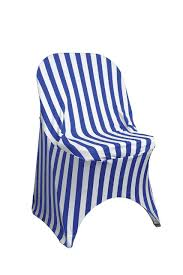 Stretch Spandex Folding Chair Covers Striped Royal Blue/White - Your ... Free Shipping 50pcs Lot Wedding Decoration Chair Cover Sashes Secohand Chairs And Tables Covers Whosale Indoor Simple Paper For Rent Spandex Navy Blue At Bridal 10 Pack Satin Gold Your Inc 2019 Two Sample Birthday Party Banquet And Pictures To Pin On Universal With Sash Discount Amazoncom Balsacircle Eggplant New Bows 15 X 275cm Fuchsia Black Polyester Bow Ties Cheap Stretch Folding White
