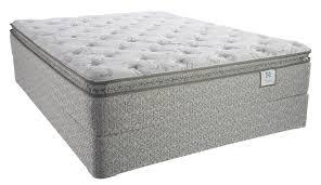 Sealy Brand Pleasant View Plush Euro Pillow Top Queen Mattress Set