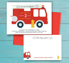 Fire Truck Birthday Party Invitation And Thank You Note - Printable ... Amazoncom Fire Truck Kids Birthday Party Invitations For Boys 20 Sound The Alarm Engine Invites H0128 Astounding Trend Pin By Jen On Birthdays In 2018 Pinterest Firefighter Firetruck Invitation Printable Or Printed With Free Shipping Semi Free Envelopes First Garbage Online Red And Hat Happy Dalmatian Personalized Transportation Dozor Cool Ideas Bagvania Printables Parties