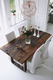 Rustic Chic Dining Room Ideas by Best 25 Rustic Table Ideas On Pinterest Wood Table Kitchen
