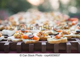 canape au saumon canape saumon apéritif canape apéritif saumon photos de