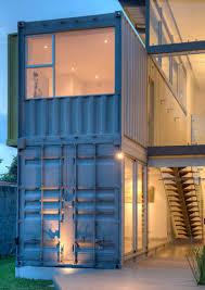 100 Designs For Container Homes Maria Jose Trejos Designs A Shipping Container Home In Costa