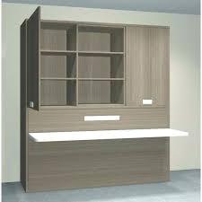 dans bureau armoire bureau integre lit armoire avec bureau integre ikea