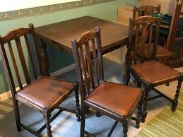 Late 1800's To Early 1900's Wooden Dining Room Table And Four Chairs   In  Ipswich, Suffolk   Gumtree Tilt Top English Breakfast Table 1800s Mahogany Idaho Extending Ding 141800 Folding Bistro Chair Set Teal Ch67 Of 8 Antique Ding Chairs My Primitive Antique Farmhouse It Is Late 5pc Modern Glass Grey Fabric Cushion Chairs Rectangle 9114ey6090tam1tr Early Oak Drop Leaf With One Drawer Of Six Late Georgian Country 3ft Handmade Solid Rustic Wood Reclaimed Pine Identify Queen Anne Style Fniture Irish Ronald Phillips Fine Tables Yewtree
