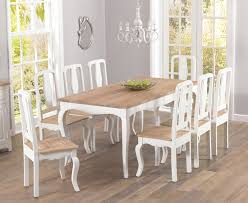 sensational ideas shabby chic dining table all dining room