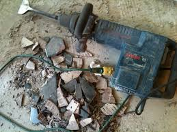 removing ceramic tile from concrete slab let s do it matsutake