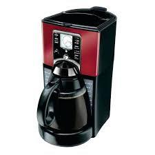 Bunn 3 Burner Coffee Maker Performance Brew Cup Programmable Red