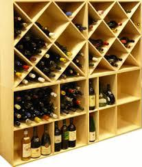 range bouteille en brique casiers à bouteilles aménagement de cave rangement bouteilles