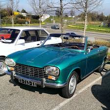 Peugeot 204 cabriolet French cars Pinterest