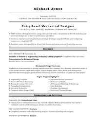 Sample Resume For An Entry-Level Mechanical Designer ... Extrarricular Acvities Resume Template Canas Extra Curricular Examples For 650841 Sample Study 13 Ideas Example Single Page Cv 10 How To Include Internship In Letter Elegant Codinator Best Of High School And Writing Tips Information Technology Templates