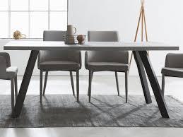 esszimmertisch küchentisch esstisch speisetisch tisch esszimmermöbel i betonoptik anthrazit