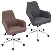 LumiSource Degree Fabric fice Chair Free Shipping Today