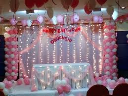 Home Birthday Decoration Ideas Party Decorations At Or By Simple