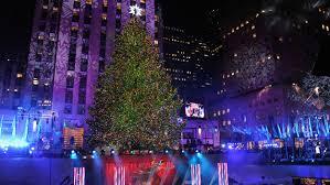rockefeller center tree lighting 皓 cbs new york