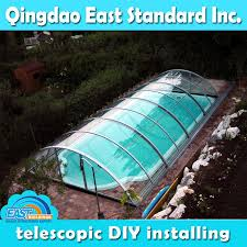 Clear Polycarbonate Sheet Swimming Pool Glass Cover With 10 Years Warranty
