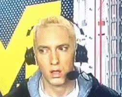 Eminem High Meme Face Gif Espn