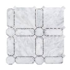 jeff lewis 11 5 8 in x 11 5 8 in x 10 mm marble mosaic