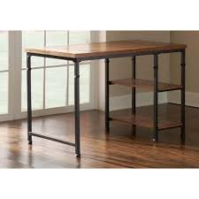 Linon Home Decor Austin Ash Veneer Desk with Shelves ASH01U
