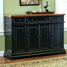 Dining Room Bar Cabinet Sideboard Wood Buffet White