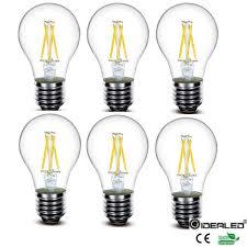sale a60 led filament bulb 4w edison style light bulb 60w
