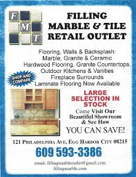 business directory listing filling marble tile retail outlet