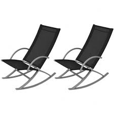 2 Pcs Outdoor Garden Patio Rocking Chairs Sun Lounger Portable Black Camping Durogreen Classic Rocker Black 3piece Plastic Outdoor Chat Set Presidential Recycled Wood Patio Rocking Chair By Polywood Shop Intertional Concepts Slat Seat Palm Harbor Wicker Grey At Home Trex Fniture Yacht Club Charcoal Americana Style Windsor Jefferson Woven With Tigerwood Weave Colby Cophagen Cushioned Rattan Armchair Glider Lounge Cushion Selections Chairs At Lowescom
