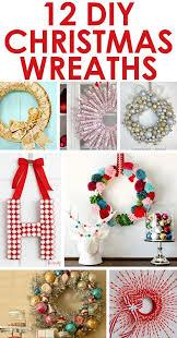 12 fun DIY Christmas wreaths from Two Twenty e Lots of