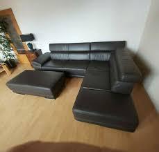 eckcouch ecksofa sofa couchgarnitur leder ottomane