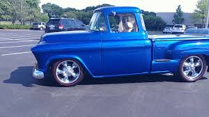 100 Custom Pickup Trucks For Sale 1955 Chevy Truck Restomod LS1 V8 FOR SALE YouTube