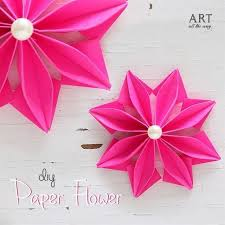 Easy Paper Flowers