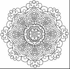 Outstanding Intricate Mandala Coloring Pages Printable With And