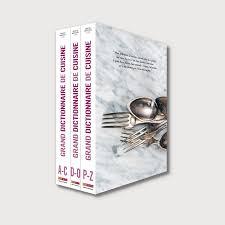 dictionnaire de cuisine grand dictionnaire de cuisine coffret de 3 volumes menu fretin