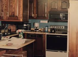 Marvelous Photograph Of This 1980s Kitchen Suffered From An Inefficient Layout And Dated Decor With