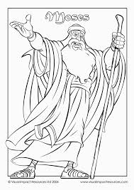 Baby Moses Coloring Pages 27