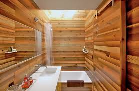 shower curtain liner in bathroom asian with wood look