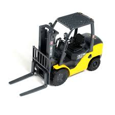100 Toy Forklift Truck 120 Construction Model Metal Diecast Vehicle
