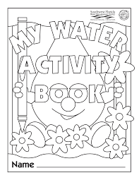 Water Safety Coloring Activity Website Inspiration Conservation Pages