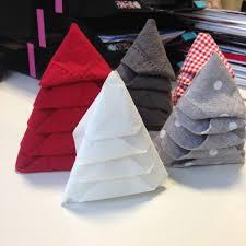 serviette de noel en papier pliage serviette papier pour noel facile on decoration d interieur