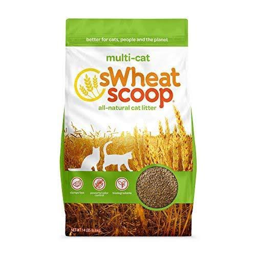 Swheat Scoop Multi-cat All-natural Clumping Cat Litter - 14lbs