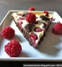 die göttlichen himbeer cheesecake brownies feinschmeckerle
