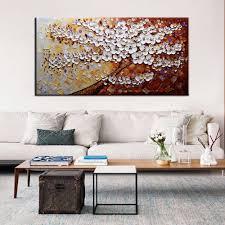 muya große wandbilder für wohnzimmer moderne handgemalte segeltuch ölgemälde leinwand abstrakte kunst baum malerei