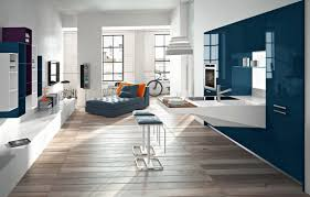 Kitchen Theme Ideas Blue by Interior Interesting Design For Kitchen Decoration With Blue