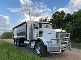 2007 Kenworth Tandem T800 Silage Grain Truck - Semler Farms Ltd.