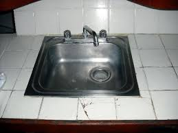 broken tile around kitchen sink picture of hotel villas playa
