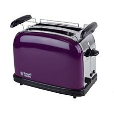 Amazon RUSSELLHOB Purple Passion Toaster 14963 56 Kitchen Dining