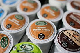 Keurig Green Mountain Inc K Cup Coffee Pods Sit Near A