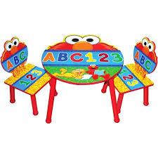Walmart Elmo Adventure Potty Chair by Sesame Street Elmo Table And Chair Set With Storage Walmart Com