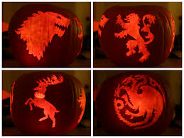 The Walking Dead Pumpkin Stencils Free by Carved Pumpkins Perfect For Tv Fans Geek Halloween Decorations